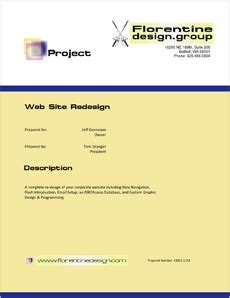 How to write a website design proposal